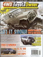 4WD Toyota Owner (Jan 2007)