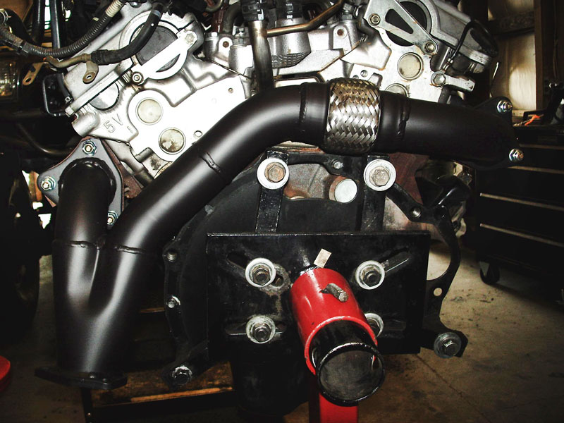 3 4l (5vz fe) conversion tech info off road solutions toyota v6 engine problems ors 3 4l exhaust crossover pipe