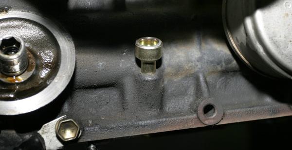 Oilpanplug on 95 4runner Engine