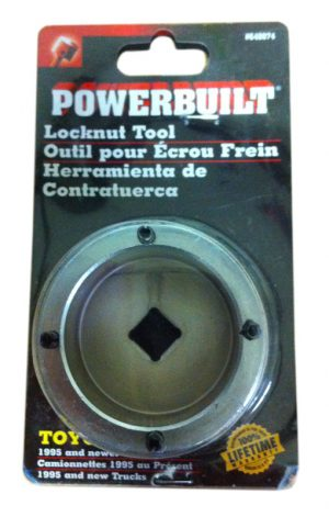 ORS Manual Hub Conversion Kit Locknut Socket - Powerbuilt