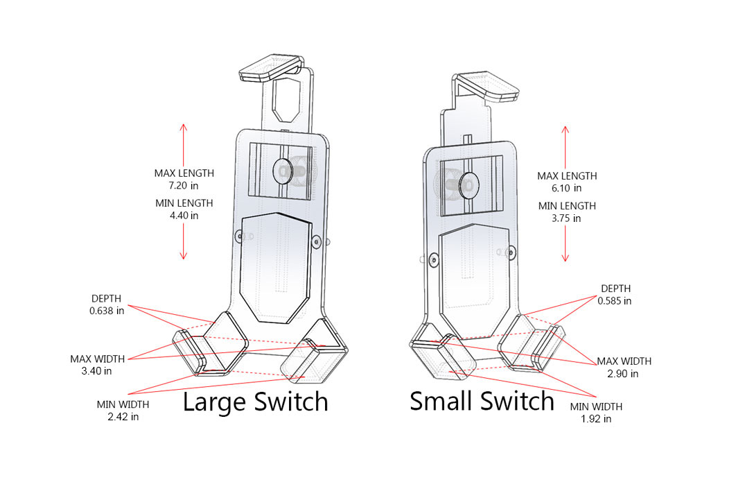 mob armor mount switch magnetic - products