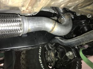 Down-Pipe Extension for ORS 3.4L 5VZ-FE Conversion Performance Header Set